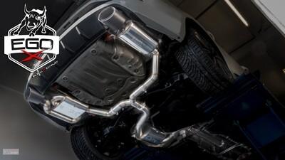 EGO-X Abgasanlage ab Kat Seat Leon ST Cupra 300/ Octavia RS 245
