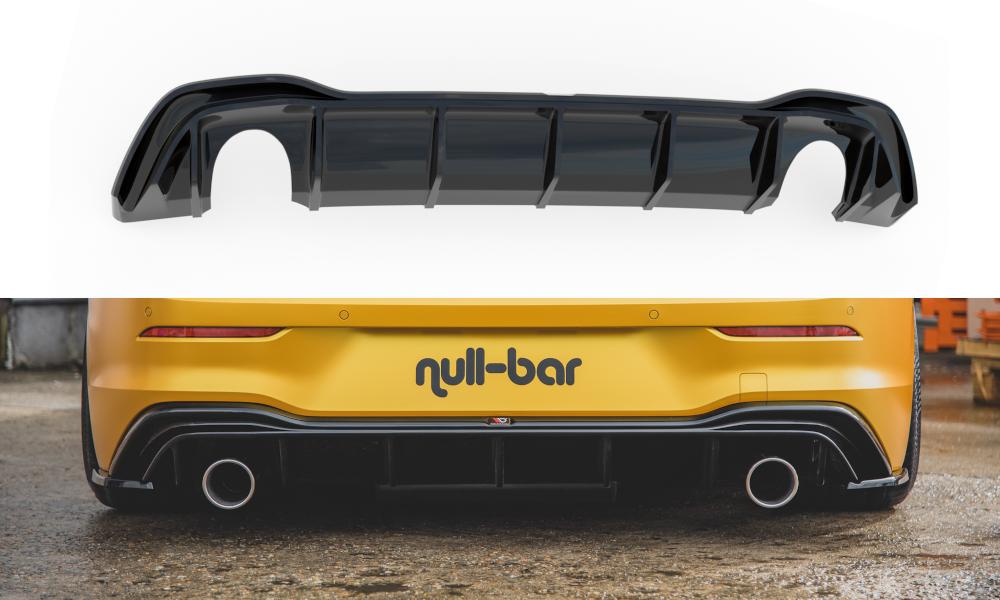 Heckdiffusor GTI Look (mit Auspuff) VW Golf 8