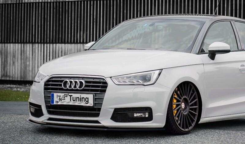 Cup Frontspoilerlippe für Audi A1 8X + Sportback ab Bj.2014