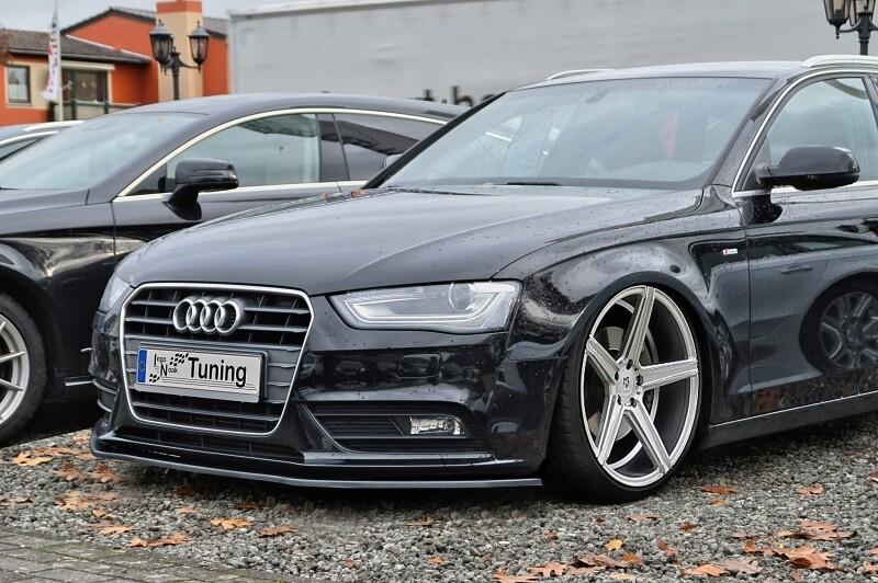 Cup Frontspoilerlippe für Audi A4 B8 Facelift S-Line