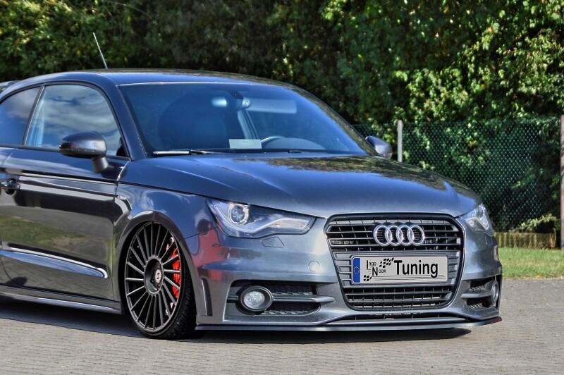 Cup Frontspoilerlippe für Audi A1 8X Sportback S-Line Bj. 2010-2014