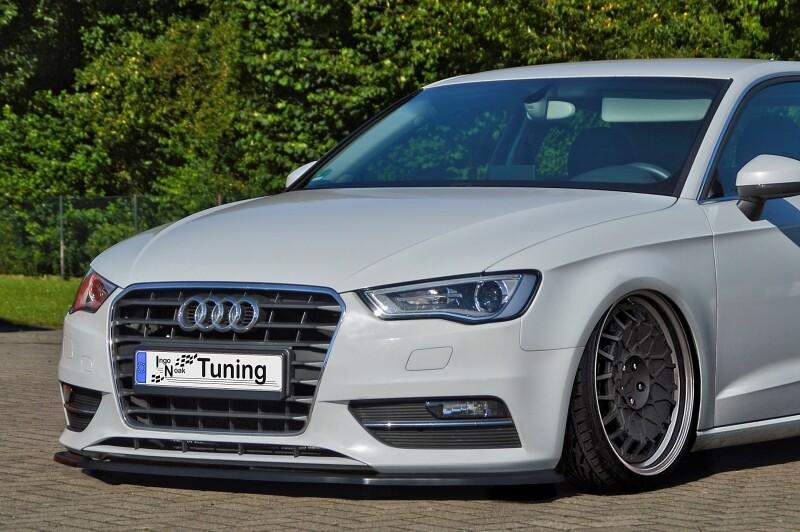 Cup Frontspoilerlippe für Audi A3 8V Audi A3 Sportback 8VA Bj. 2012 -