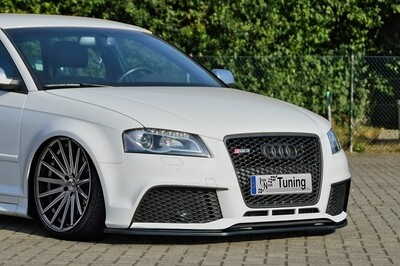 Cup Frontspoilerlippe für Audi RS3 8PA