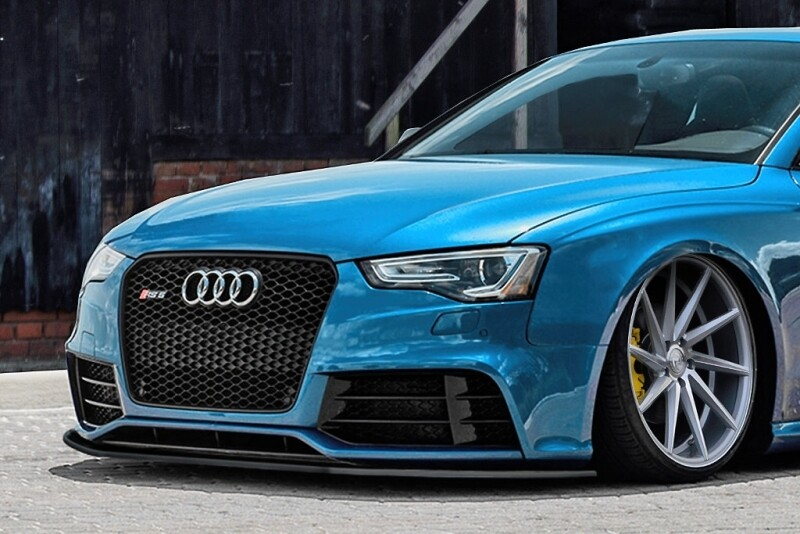 Cup Frontspoilerlippe für Audi RS5 8T