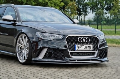 Cup Frontspoilerlippe  Audi RS6 4G C7