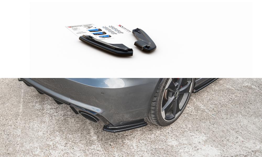 Side Splitters V1 Audi RS3 8V