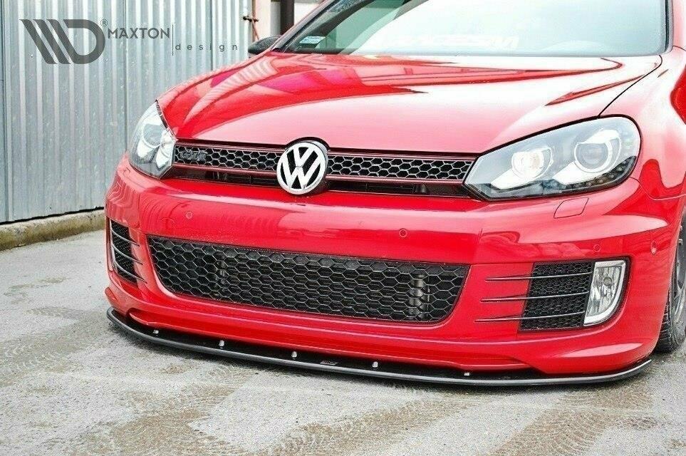 Frontlippe V1 VW Golf 6 GTI 35TH Edition