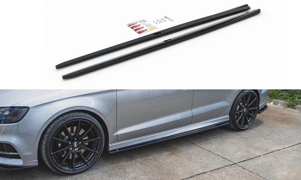 Seitenschweller V2 Audi S3 8V Facelift Limousine
