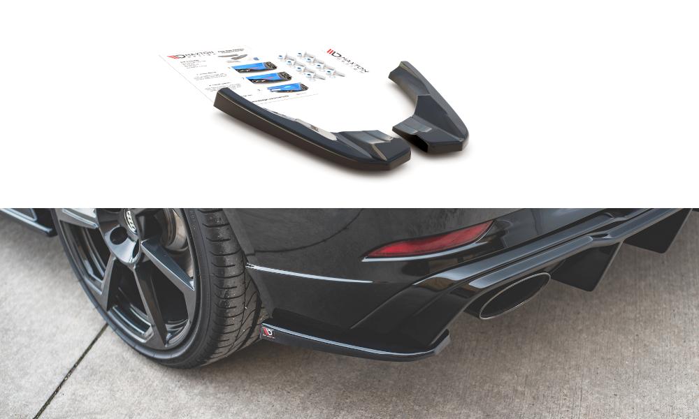Seitenteile zu Heckdiffusor Audi RS3 8V Facelift
