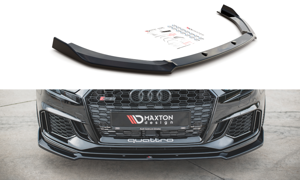 Frontlippe V3 Audi RS3 8V Facelift Sportback