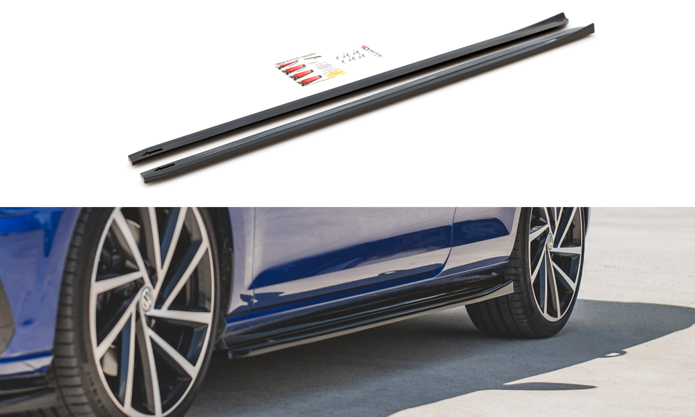 Seitenschweller V4 VW Golf 7R Facelift