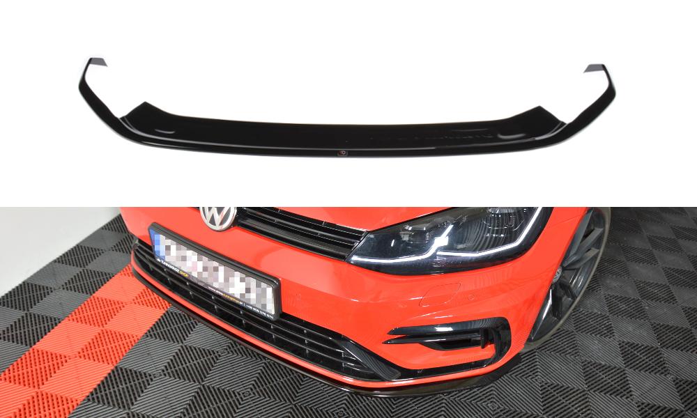 Frontlippe V7 VW Golf 7R Facelift