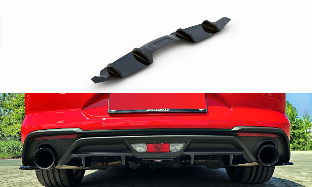 Heckansatz Mustang GT Facelift