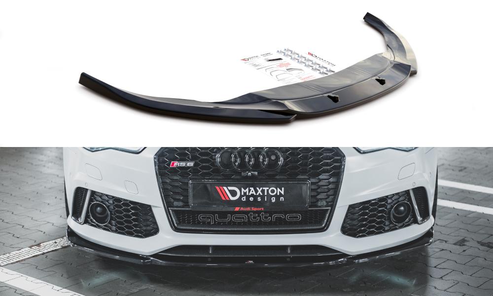 Frontlippe V3 Audi RS6 C7