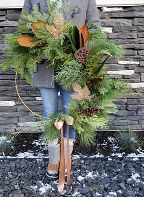 Enchanted Forest Wreath