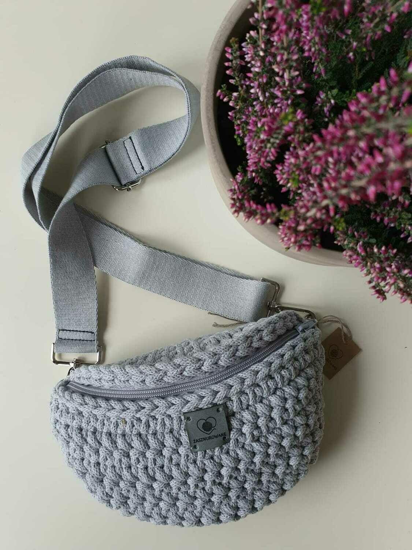 Light Grey Belt Bag