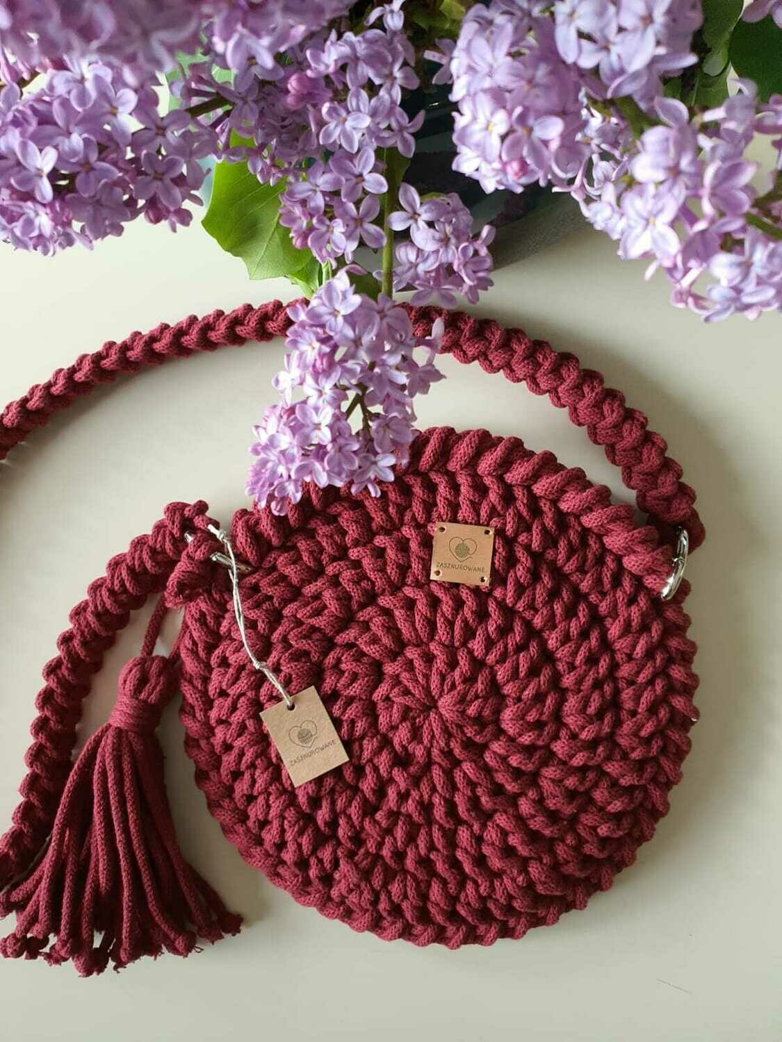 Raspberry Mini Bag