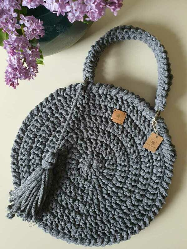 Grey Classic Bag