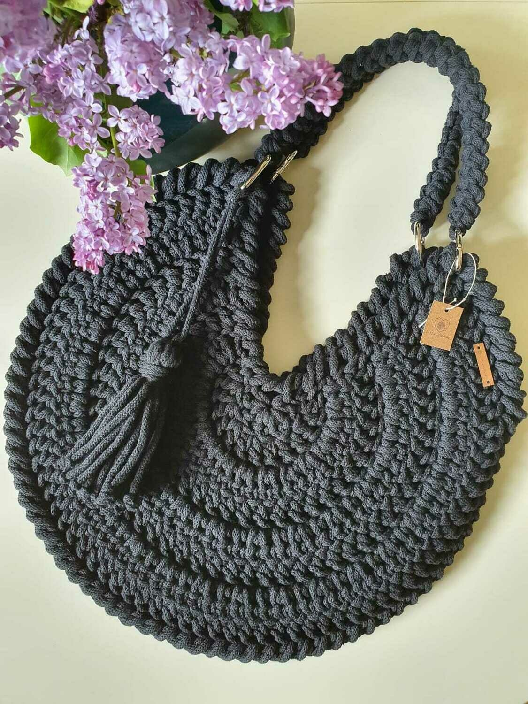 Dark Grey Maxi Bag
