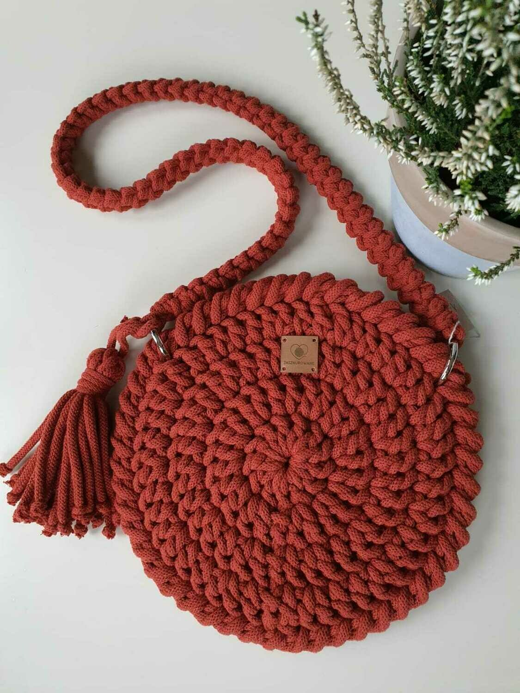 Brick-Red Mini Bag