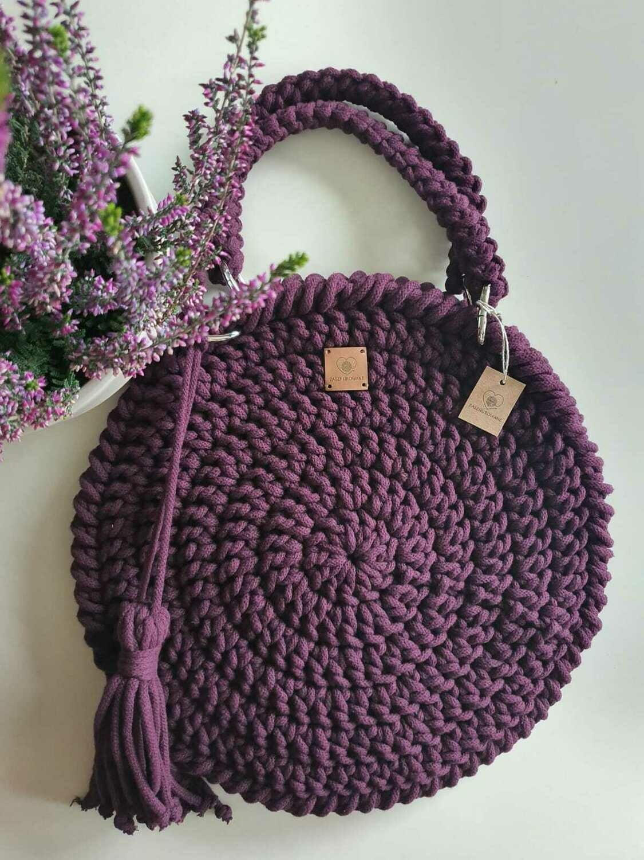 Dark Violet Classic Bag
