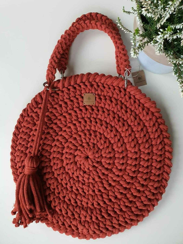 Brick-Red Classic Bag
