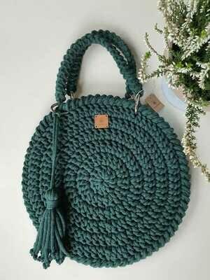 Bottle Green Classic Bag