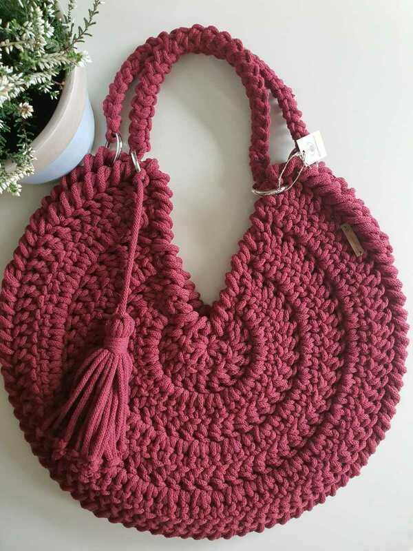 Raspberry Maxi Bag