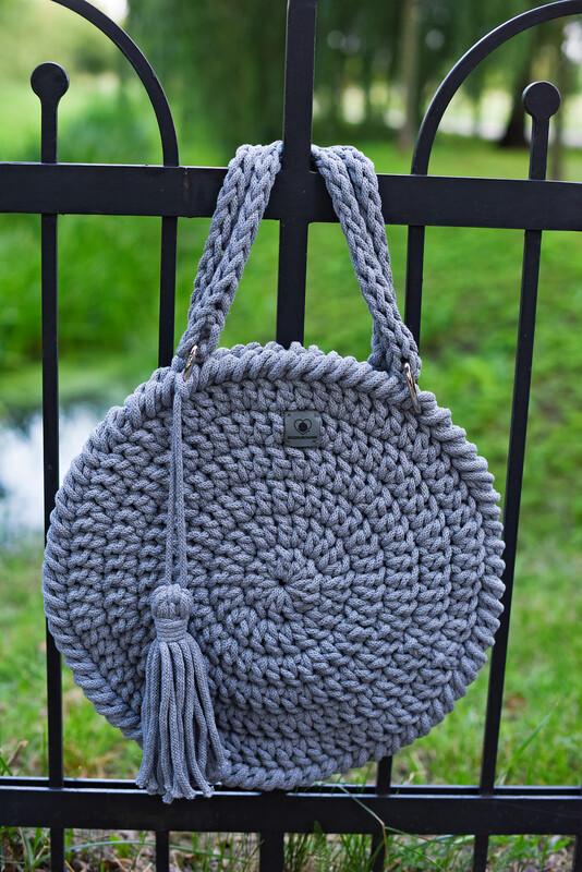 Light Grey Classic Bag