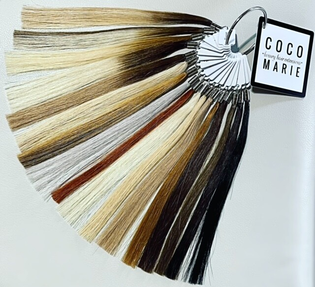 COCO MARIE extension color swatch ring