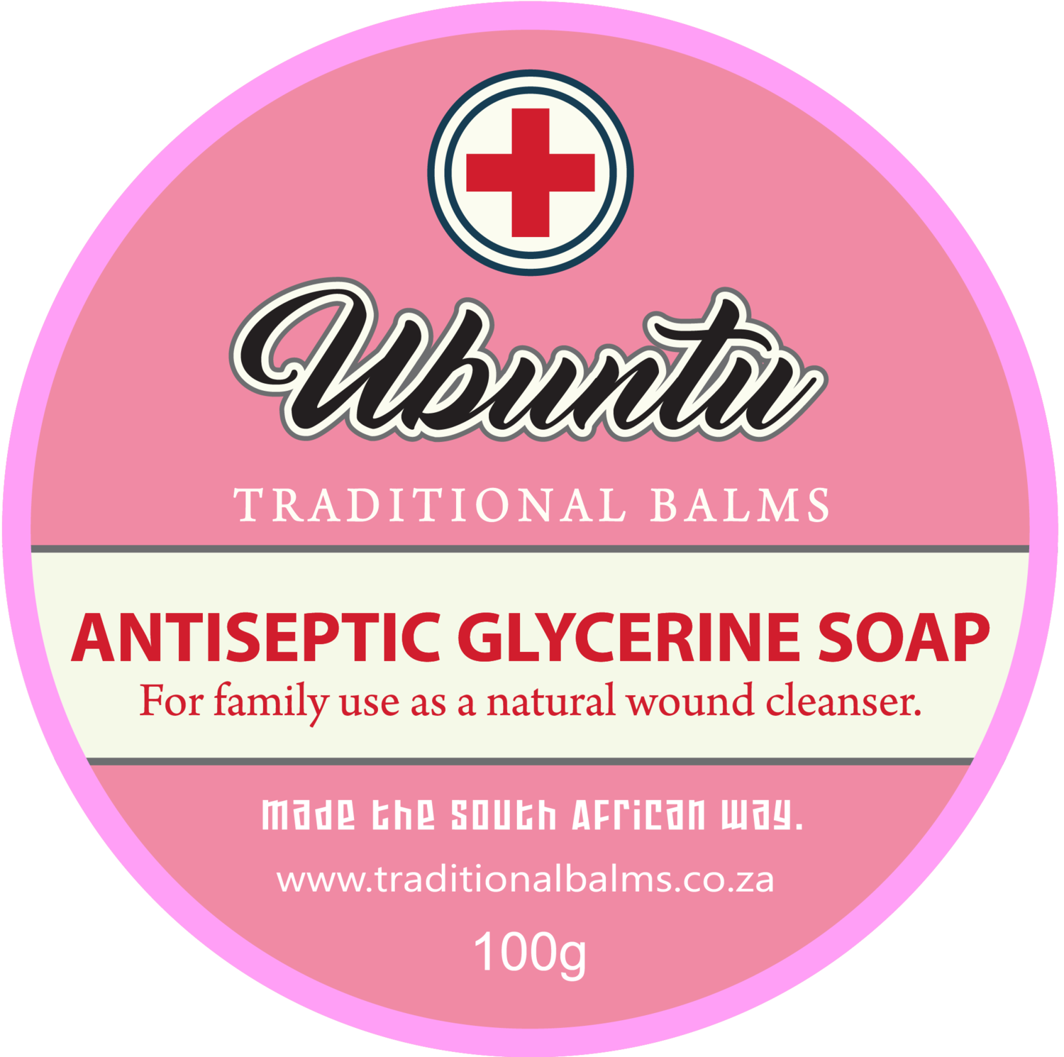 Pure Antiseptic Glycerine Soap 100g