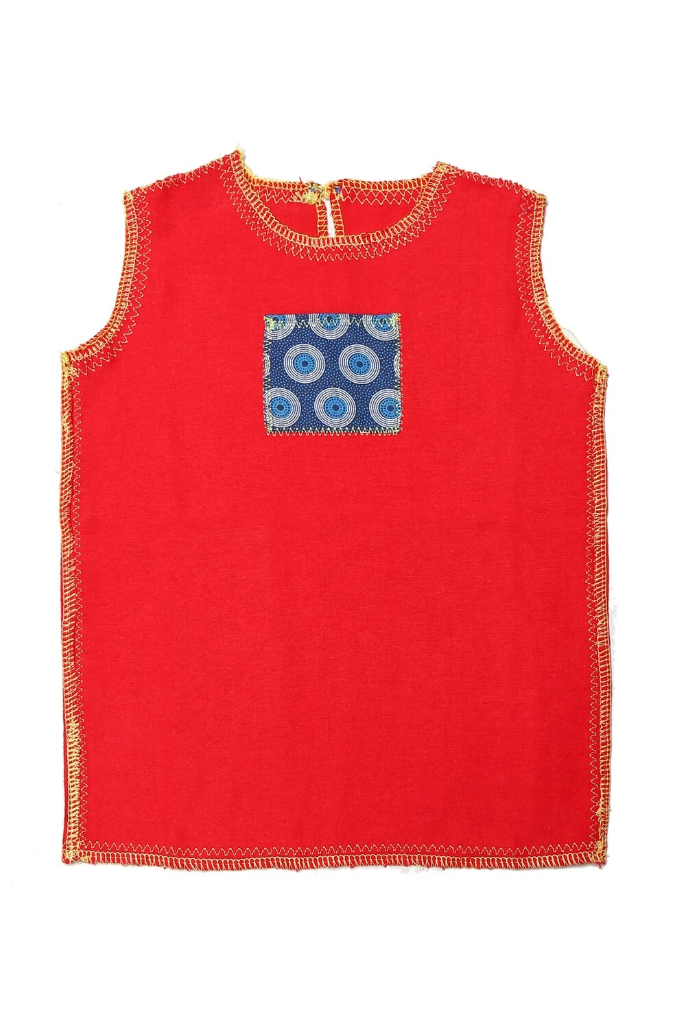 Doctor Red Flannel Vest