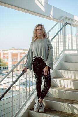 The Premium Fleece Flare Sleeve Pullover