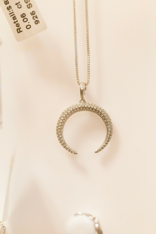 Ladies WS Necklace SBEPD-6024-D