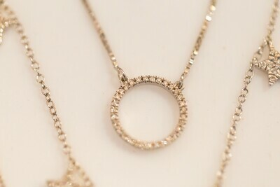 Ladies WS Necklace PS-53623-W