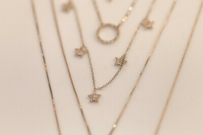Ladies WS Necklace SN-32298-W