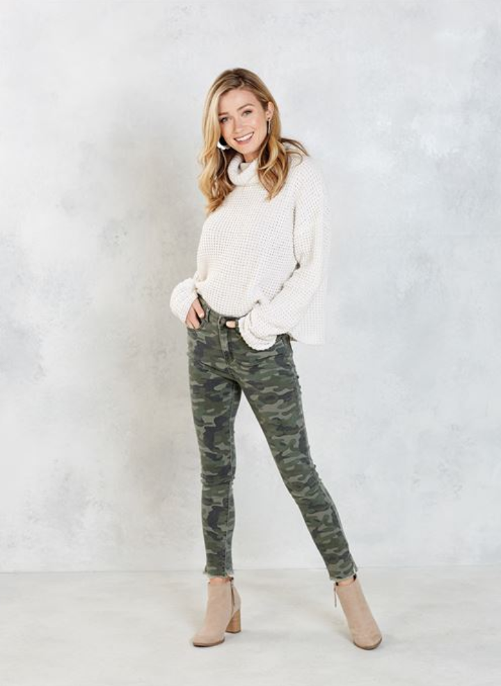 Rory Green Camo Jeans