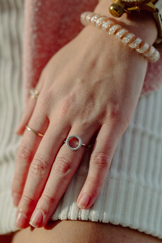Ladies WS Ring BR-6518-W