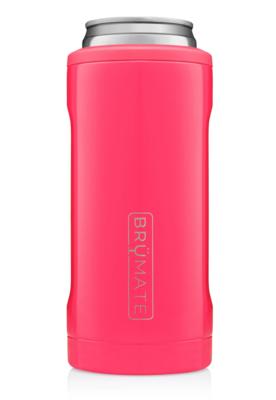 Hopsulator Slim Insulated Slim-Cooler | Neon Pink