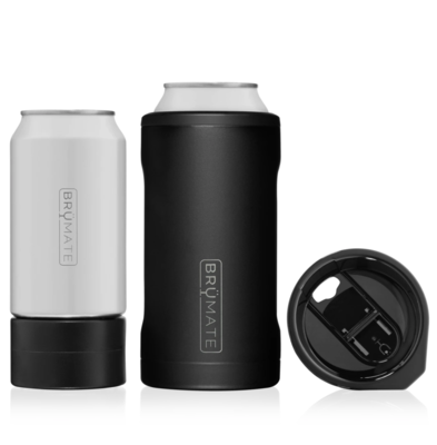 Hopsulator TRiO 3-in-1 can-cooler | Matte Black