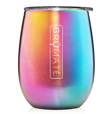 Uncork'd XL 14oz Wine Tumbler | Rainbow Titanium