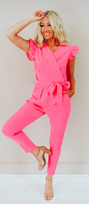 Pearl Pink Jumpsuit