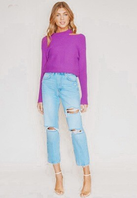 Morgan Cut Out Sweater