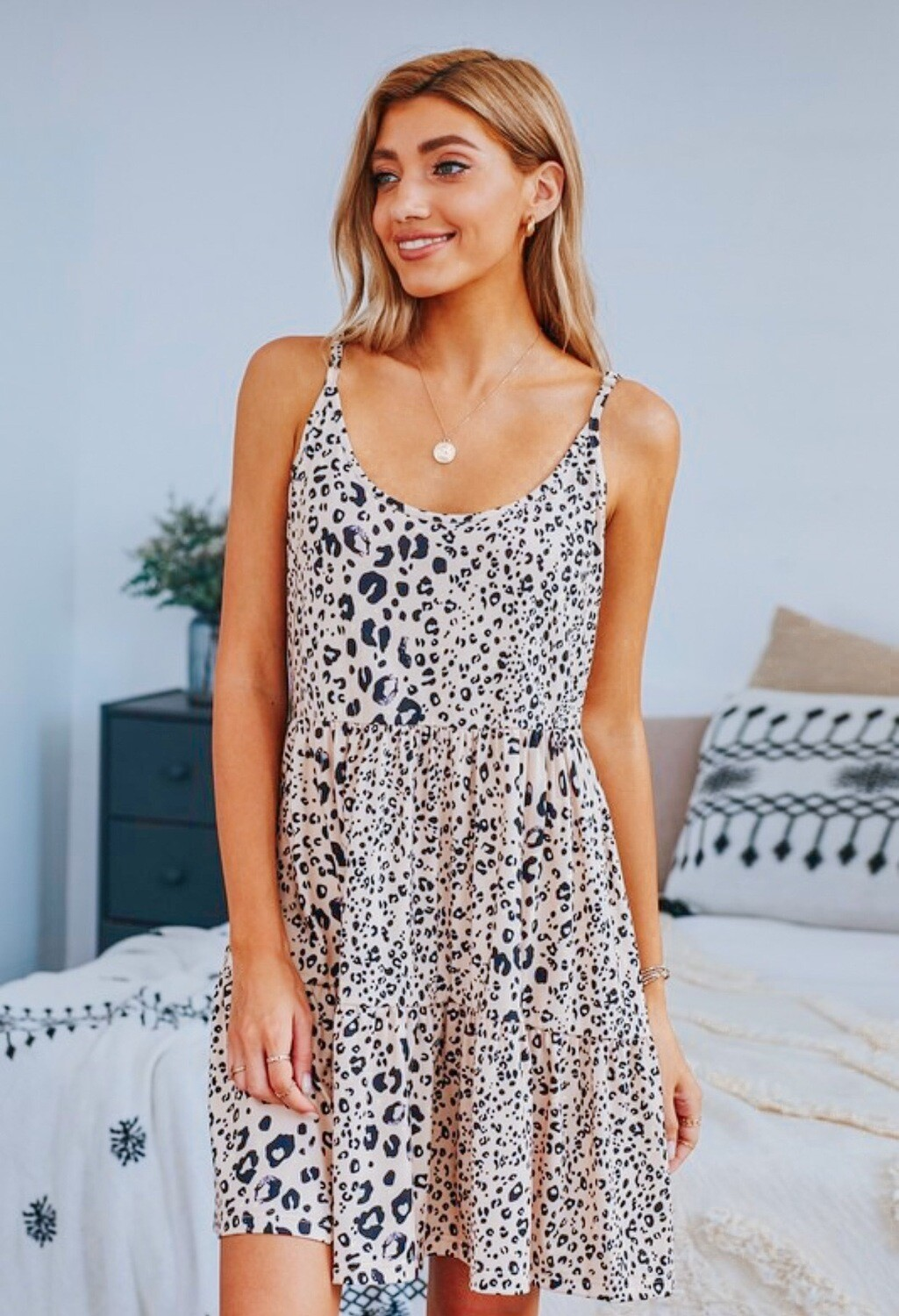 Wild And Free Leopard Dress