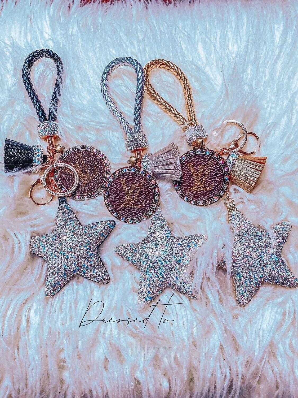 Upcycle Star keychain