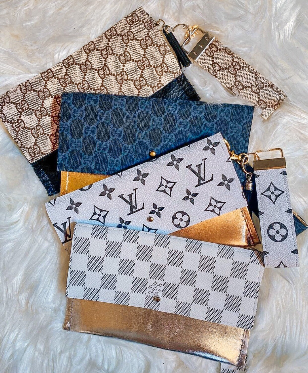 AUTHENTIC Upcycle Clutch