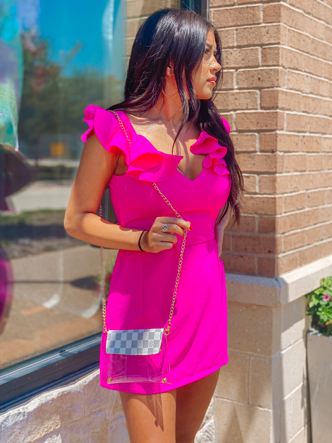Never Too Much Pink Dress