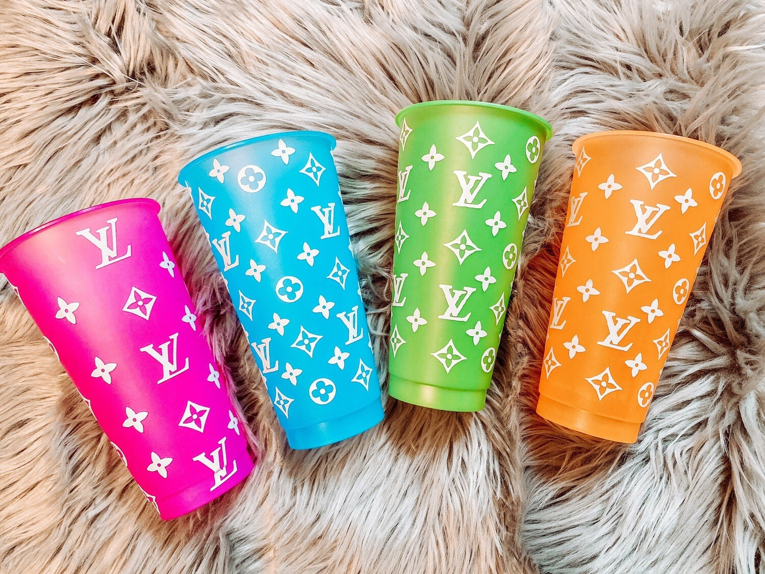 Bougee LV Color Changing Cups