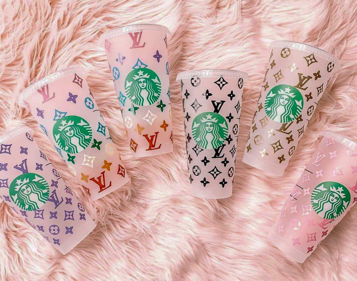 LV Starbucks Cups