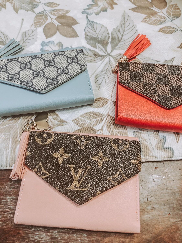 Snap Tassel Designer Wallets